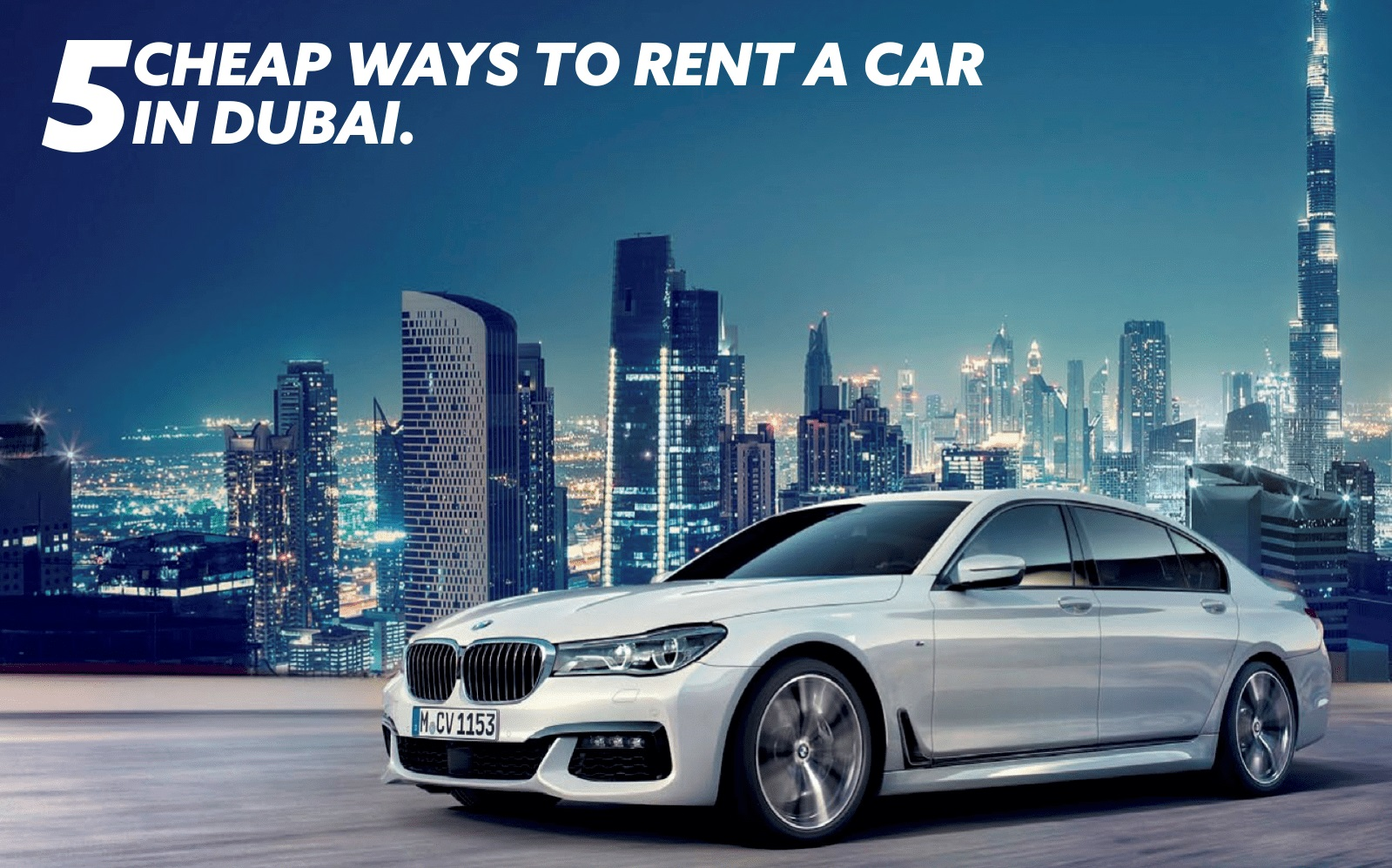 5 Cheap Ways to Rent a Car on Monthly Basis in Dubai |Tripjohn.com