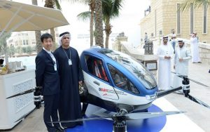 Flying car Dubai