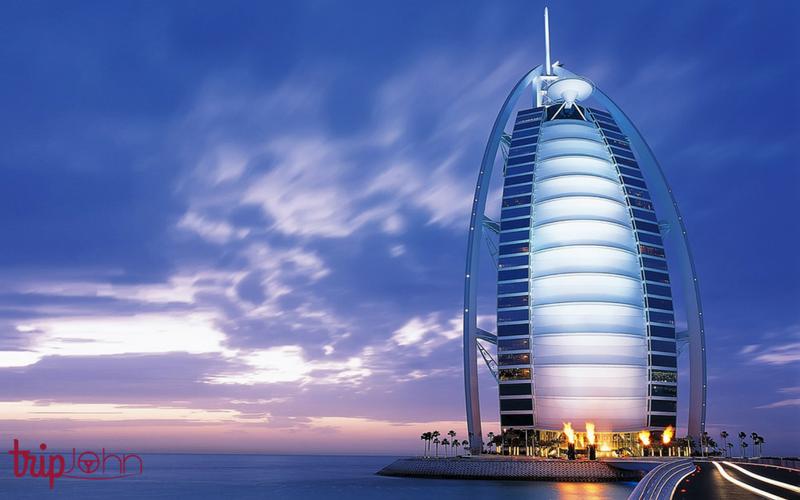 Burj Al Arab By Tripjohn rent a car Dubai