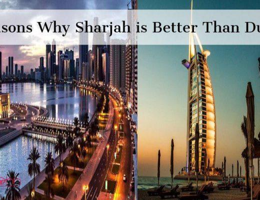 Sharjah vs Dubai by Tripjohn car rental dubai