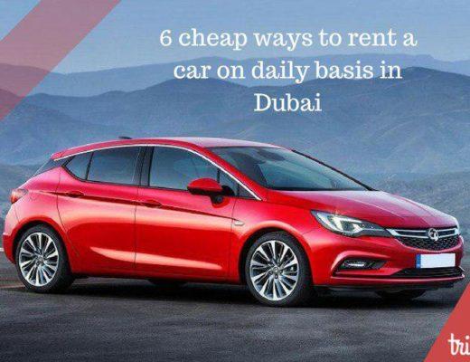 Daily car rental dubai