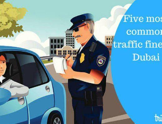 Five most common traffic fines in Dubai