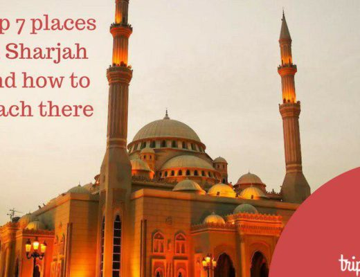 Top 7 places in Sharjah by Tripjohn rent a car Dubai