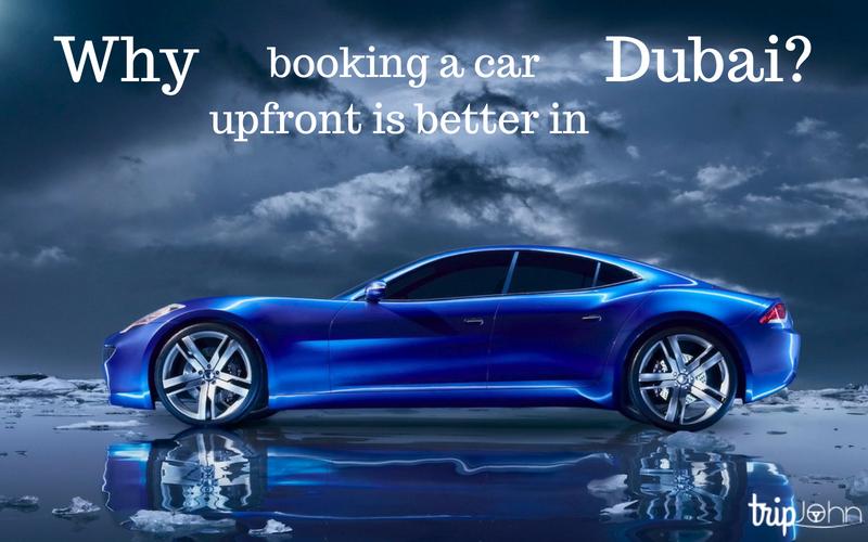Upfront car booking by Tripjohn car rental