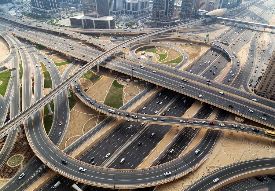 Traffic Jams in Dubai