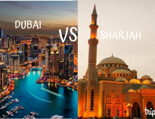 Sharjah VS Dubai