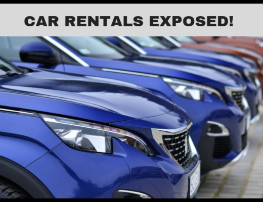 CAR RENTALS EXPOSED! Don't fall into this trickery while re