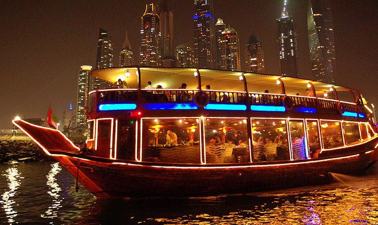 Dubai dinner cruise - Tripjohn Dubai