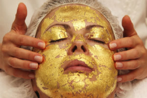 Gold facial in Dubai