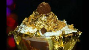 Gold Ice-Cream in Dubai