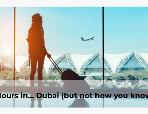 living 24hrs in Dubai