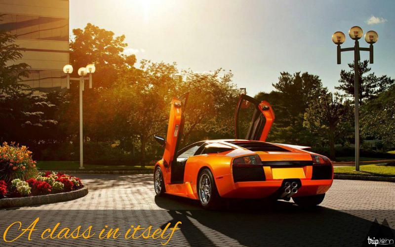 Rent a Lamborghini in Dubai